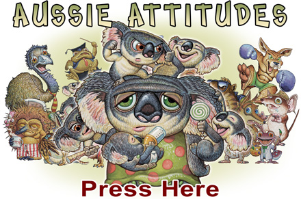 Aussie Attitudes by Ian Coate