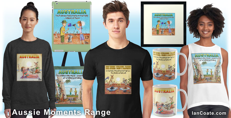 Aussie Moments Range by Ian Coate