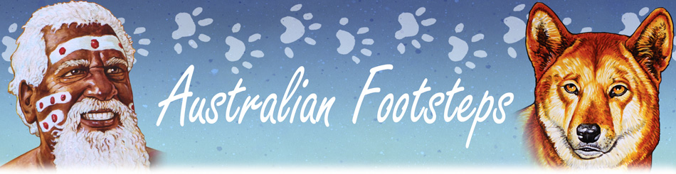 Australian Footsteps by Ian Coate