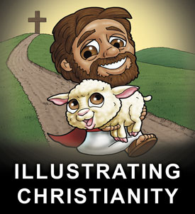Christian Illustrations by Ian Coate