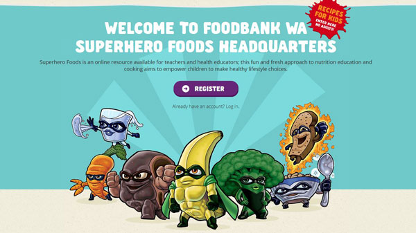Superhero foods