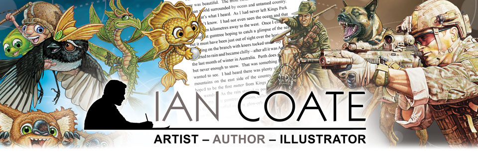 Ian Coate Artist Author Illustrator