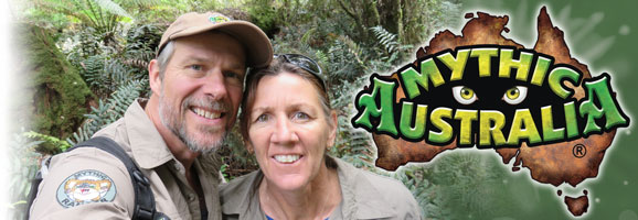 Ian Coate and Sue Coate Mythic Australia