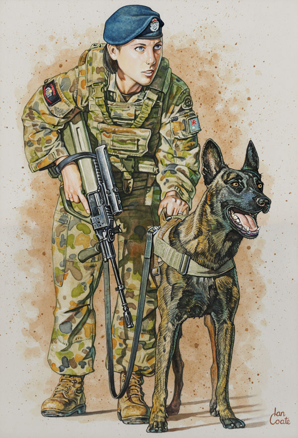 Military Working Dog Handler