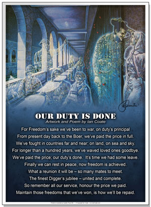 Our Duty is Done Poem by Ian Coate
