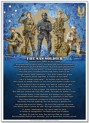 The SAS Soldier Poem by Ian Coate