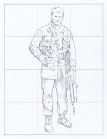 Drawing a Soldier
