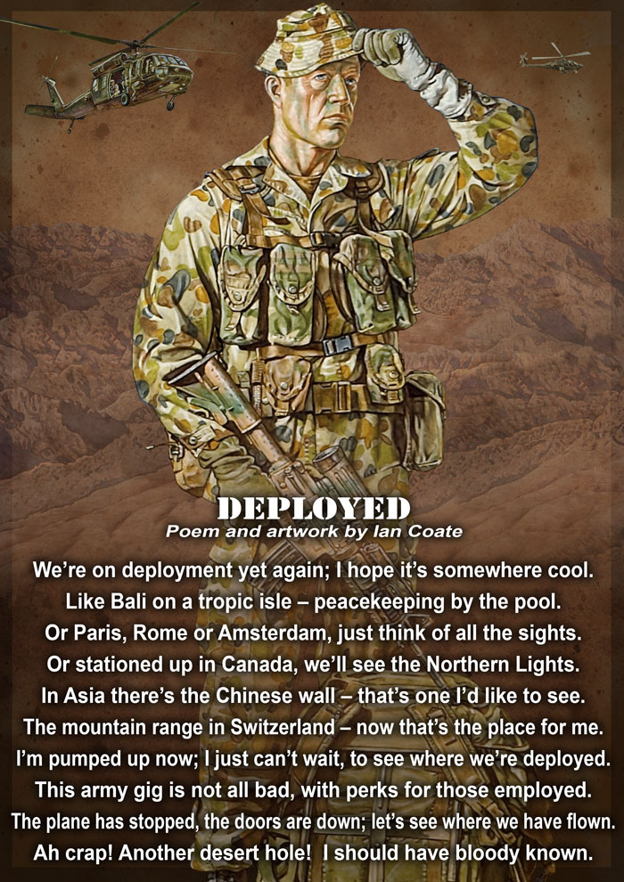 Military Poem by Ian Coate