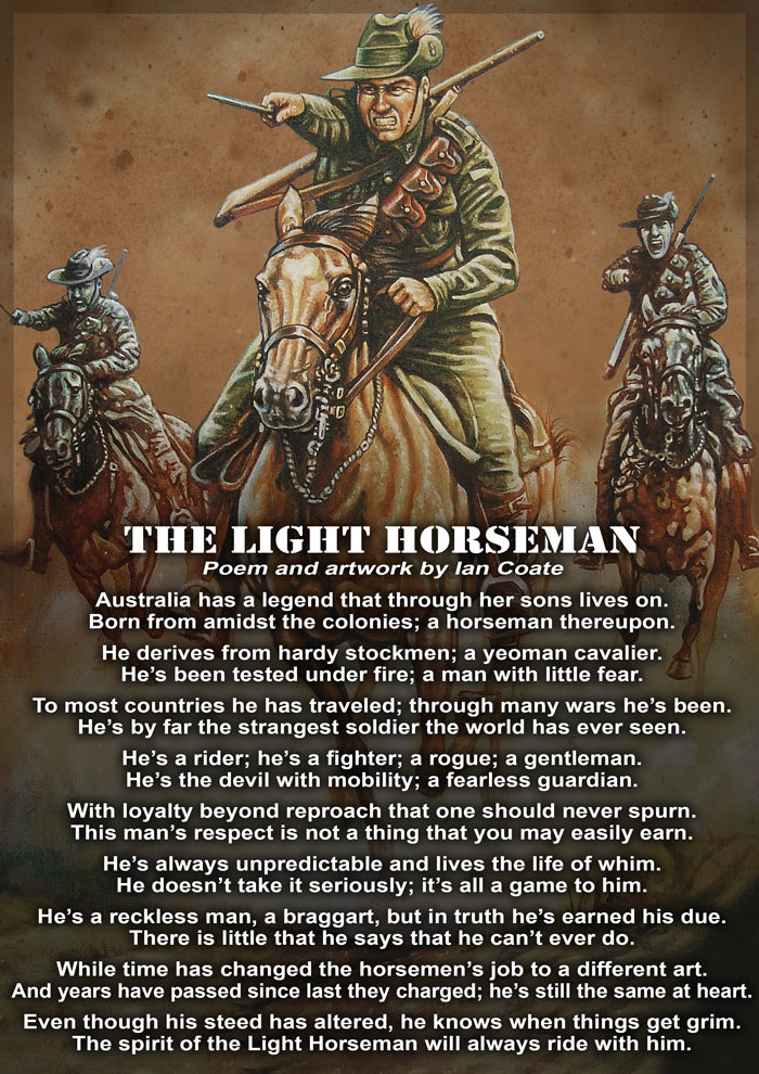 Light Horse Poem