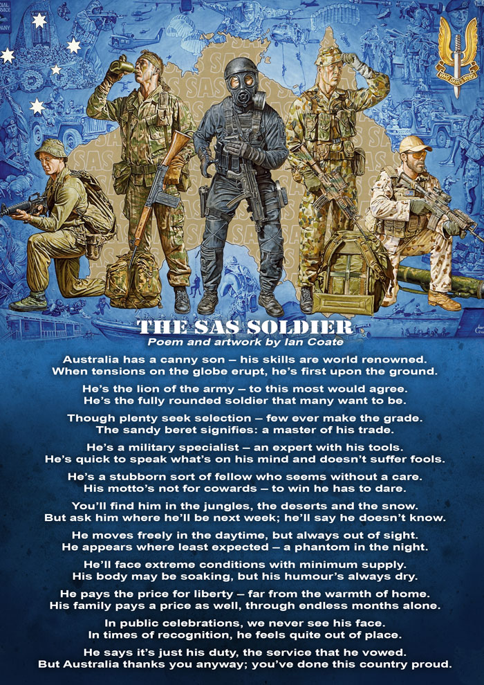 Australian SAS Poem by Ian Coate