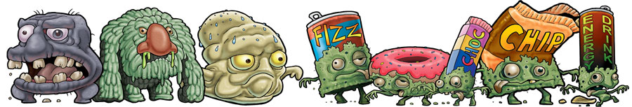 Unhealthy Zombie Foods